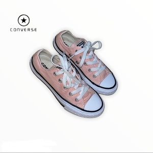 Girl's Converse Pink Sneakers, Size 12